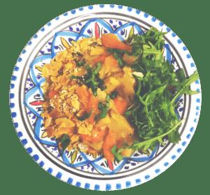 plat-végétarien-lenchante-rennes-restaurant
